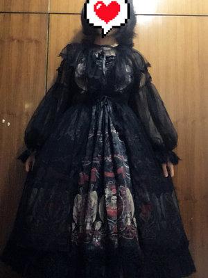 EcoMidairの「Gothic Lolita」をテーマにしたファッションです。(2018/03/18)