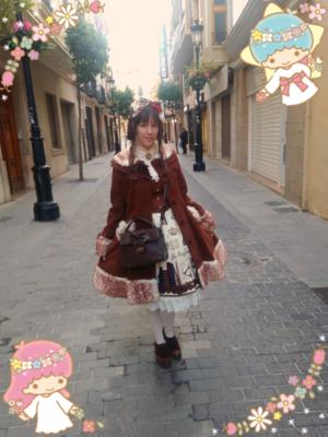 YumikoDollの「Angelic pretty」をテーマにしたファッションです。(2018/03/19)