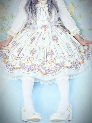 alice15cの「Flowers」をテーマにしたファッションです。(2018/03/20)