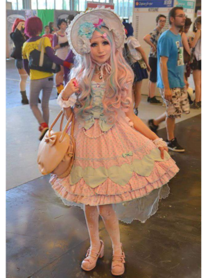 是Mew Fairydoll以「Angelic pretty」为主题投稿的照片(2018/03/23)