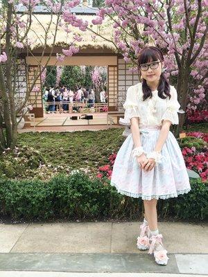 Riipin's 「Angelic pretty」themed photo (2018/04/01)