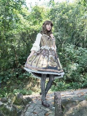 Linlin の「Classic Lolita」をテーマにしたファッションです。(2018/04/04)