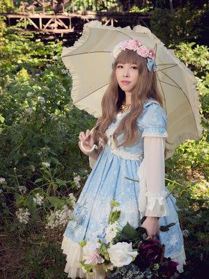 石絮絮の「Cherry Blossoms」をテーマにしたファッションです。(2018/04/04)