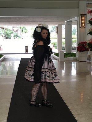 Momona's 「Angelic pretty」themed photo (2016/12/04)