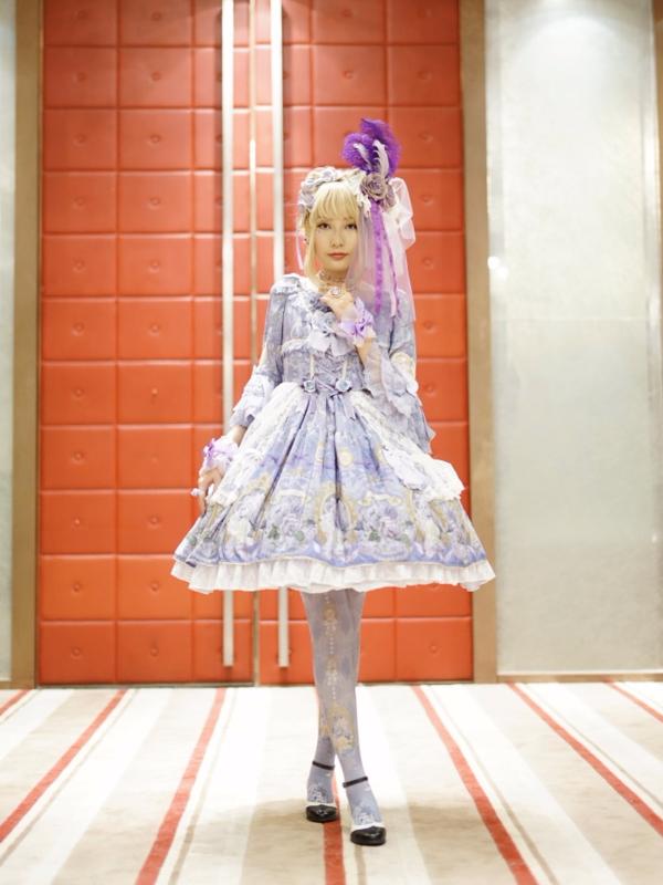 HEAVENの「Lolita fashion」をテーマにしたファッションです。(2018/04/10)