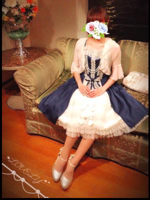 さぶれーぬの「Classic Lolita」をテーマにしたファッションです。(2018/04/11)