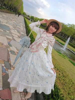 さぶれーぬの「Country Lolita」をテーマにしたファッションです。(2018/04/11)