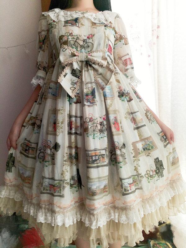 八百字-Maggieの「Lolita」をテーマにしたファッションです。(2018/04/11)