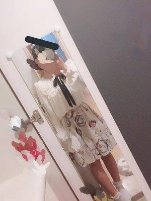 苹果の雫/apple's dropの「milk」をテーマにしたファッションです。(2018/04/11)