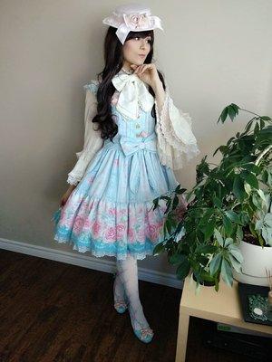 Mystiaの「Angelic pretty」をテーマにしたファッションです。(2018/04/12)