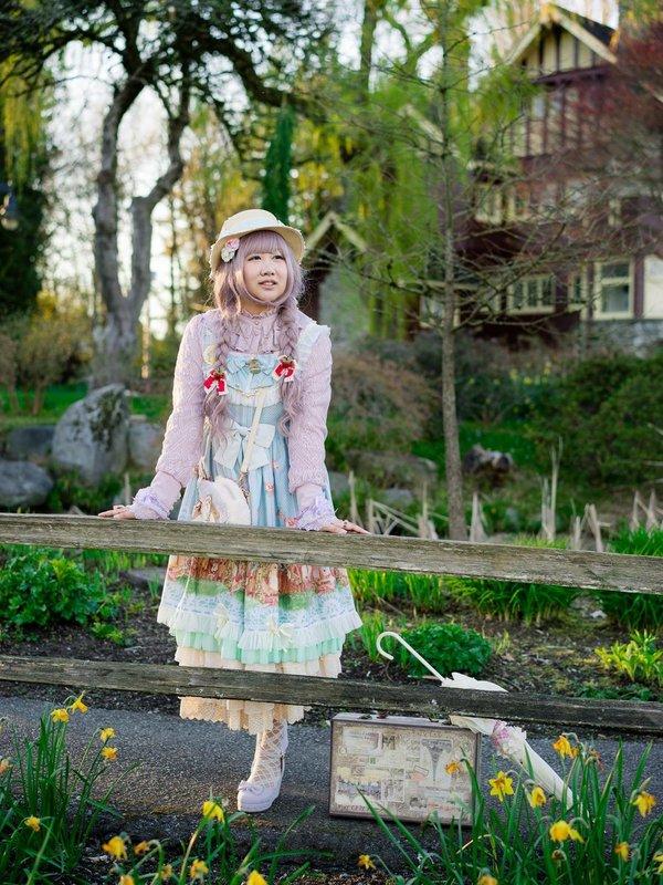 Sugar Nyoの「harajuku-coordinate-contest-2018」をテーマにしたファッションです。(2018/04/13)