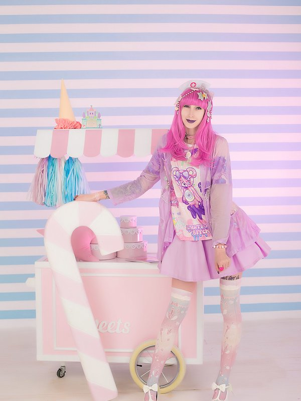 LaCroixLolitaの「harajuku-coordinate-contest-2018」をテーマにしたファッションです。(2018/04/13)