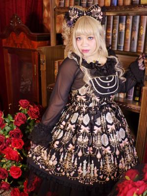 喵小霧の「Angelic pretty」をテーマにしたファッションです。(2018/04/16)