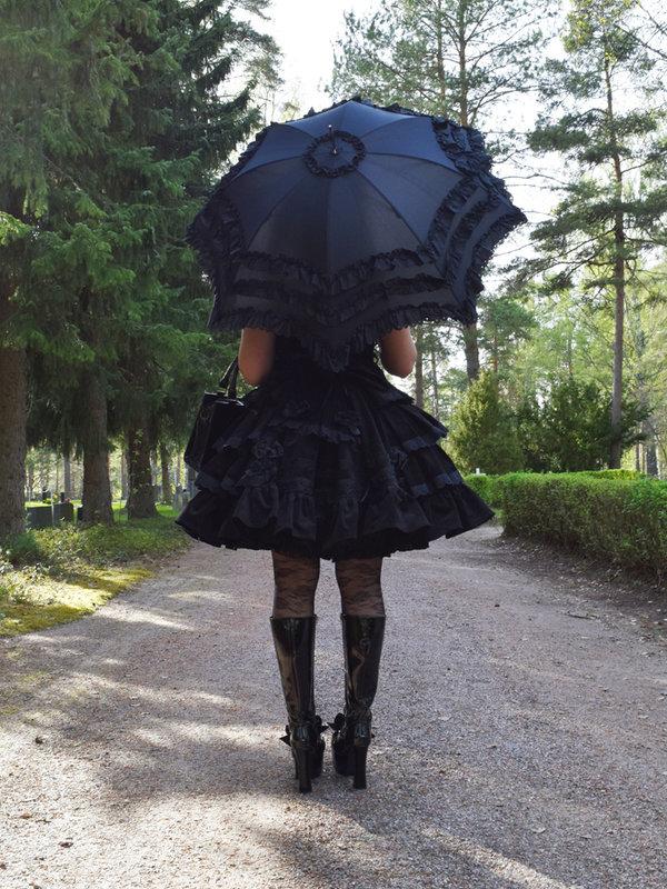 Marjo Laineの「Umbrella」をテーマにしたファッションです。(2018/04/17)