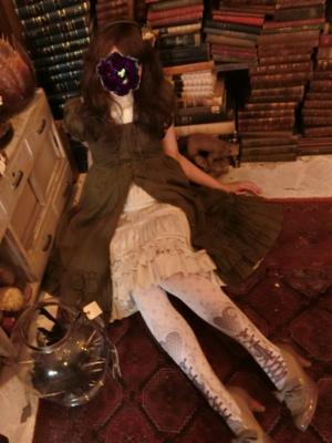 蜜蜂の「Classic Lolita」をテーマにしたファッションです。(2018/04/20)