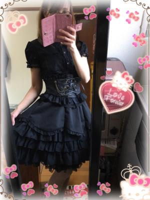 shironekoAYAKOの「Angelic pretty」をテーマにしたファッションです。(2018/04/21)