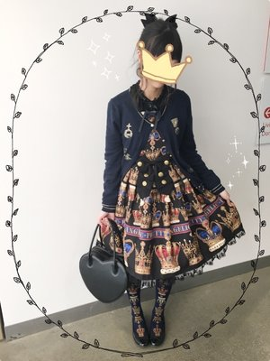 Kuroeko's 「Angelic pretty」themed photo (2017/02/13)