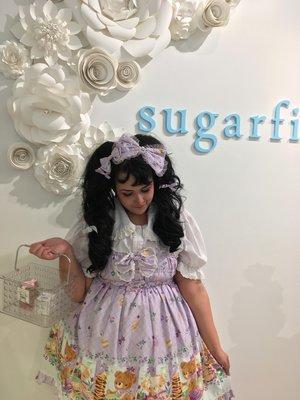 Momona's 「Sweet lolita」themed photo (2017/02/20)