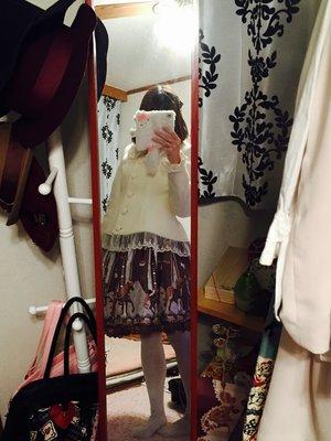 momo♡のファッションです。(2017/03/06)