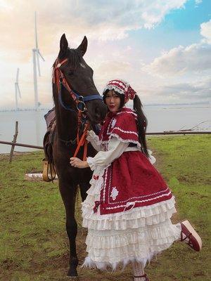 『有一条你喜欢的人,她会身穿LO裙,骑着高头骏马来嫁...