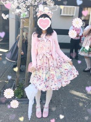 Kuroeko's 「Angelic pretty」themed photo (2017/04/09)