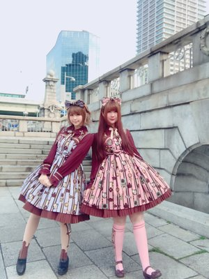 友達と双子しました(*´∀`*)♡この2色の合わせは...