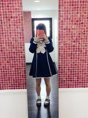 momo♡の「To Alice」をテーマにしたファッションです。(2017/04/25)