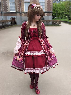 Today's Hime Lolita outfit...