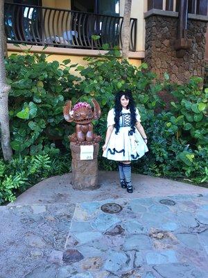 Momona's 「Sweet lolita」themed photo (2017/05/22)