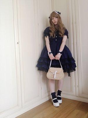 omuricepuの「Angelic pretty」をテーマにしたファッションです。(2017/06/01)
