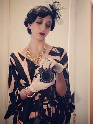 1920s style! Not Lolita ...
