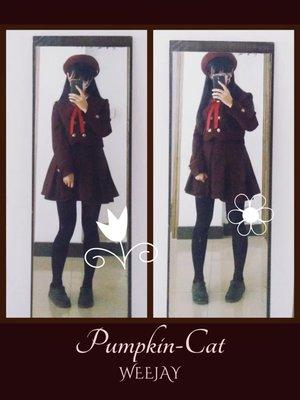 WeeJay_V_みく♡の「PumpkinCat」をテーマにしたファッションです。(2017/06/14)