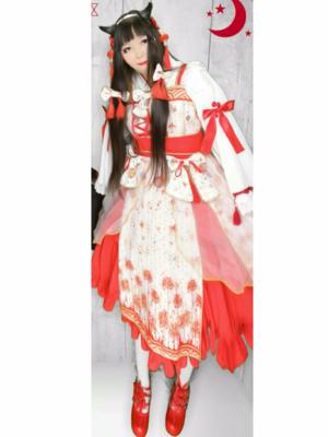 蝶華の「華ロリ」をテーマにしたファッションです。(2017/06/19)