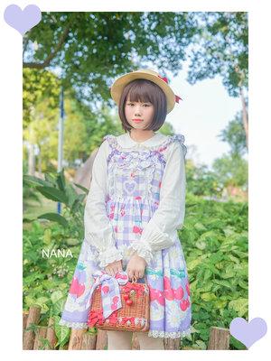 奈奈兔~の「AngelicPretty  SweetLolita」をテーマにしたファッションです。(2017/06/19)
