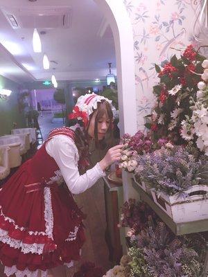 裙子:圣诞A 发带:手作