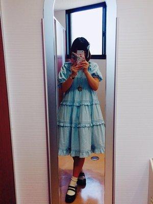 momo♡の「To Alice」をテーマにしたファッションです。(2017/06/23)