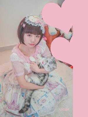 奈奈兔~の「AngelicPretty」をテーマにしたファッションです。(2017/06/25)