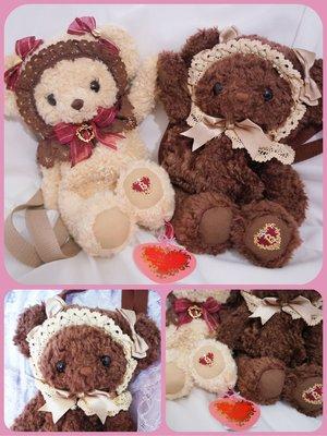 baby焦糖熊 原宿限定奶茶熊