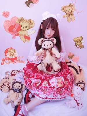 Baby兔熊情人节Set