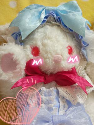 布子の「兔熊」をテーマにしたファッションです。(2017/07/01)