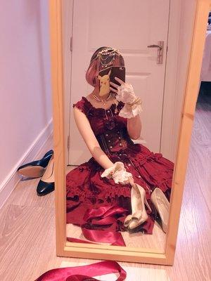 风信子jsk+未完之书corset