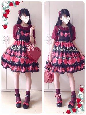 Hitomiの「soft lolita」をテーマにしたファッションです。(2017/07/18)
