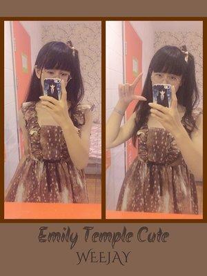 WeeJay_V_みく♡の「Emily temple cute」をテーマにしたファッションです。(2017/07/25)