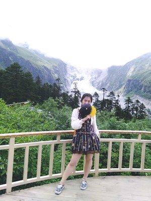 贡嘎山海螺湾 冰山 ! 亚洲海拔最低的冰山😂😂😂 S...