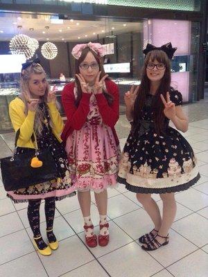 RubberDuckyの「Sweet lolita」をテーマにしたファッションです。(2016/07/19)