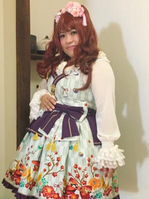 喵小霧の「和ロリ」をテーマにしたファッションです。(2017/08/06)