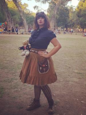 Nanna Azevedoの「STEAMPUNK」をテーマにしたファッションです。(2017/08/10)