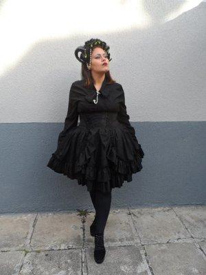 Roberta Brandãoの「Gothic」をテーマにしたファッションです。(2017/08/17)