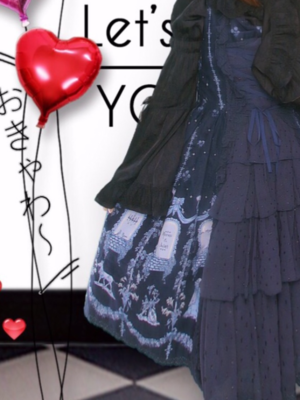 久々にプリを撮りました。 ロリィタの姫袖、バッスル...