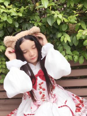 Baby 草莓围裙